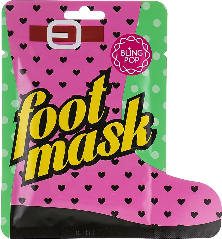 Shea Butter Foot Mask - Bling Pop Shea Butter Healing Foot Mask