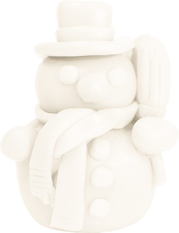"Pineapple Natural Soap ""White Snowman"" - LaQ Happy Soaps"