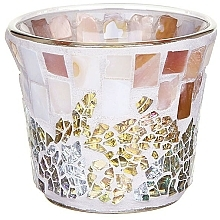 Fragrances, Perfumes, Cosmetics Candle Holder - Yankee Candle Gold and Pearl Votive Sampler Holder