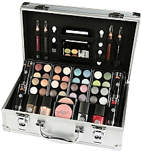 Fragrances, Perfumes, Cosmetics Cosmetic Set - Makeup Trading Schmink Set Alu Case
