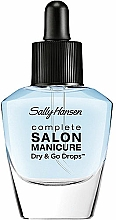 Fragrances, Perfumes, Cosmetics Fast Dry Top Coat - Sally Hansen Salon Manicure Dry And Go Drops