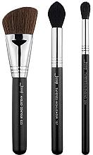 Fragrances, Perfumes, Cosmetics Makeup Brush Set, T305, 3pcs - Jessup
