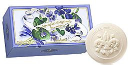 "Fragrances, Perfumes, Cosmetics Toilet Soap Set ""Violet"" - Saponificio Artigianale Fiorentino Violet (Soap/6x50g)"