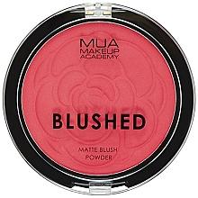 Fragrances, Perfumes, Cosmetics Blush - MUA Blushed Matte Powder