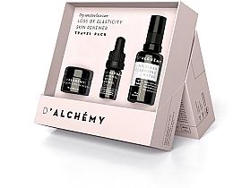 Fragrances, Perfumes, Cosmetics Set - D'Alchemy Loss of Elasticity Skin Renewer Travel Pack (f/cr/15ml + f/oil/5ml + mic/water/30ml)
