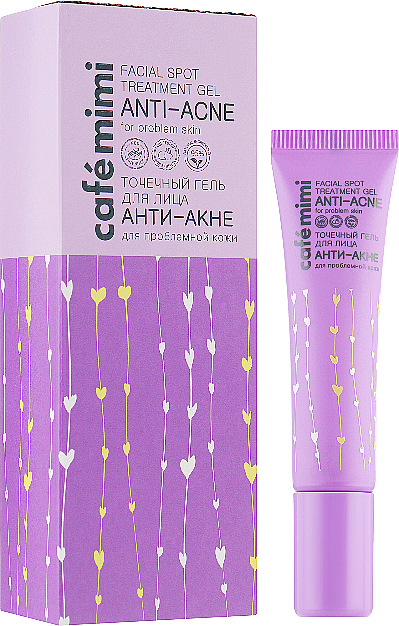 "Spot Treatment Gel ""Anti-Acne"" - Cafe Mimi Facial Spot Treatment Gel"