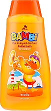 "Fragrances, Perfumes, Cosmetics Bath Liquid ""Exotic"" - Bambi"