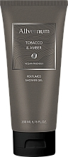 Fragrances, Perfumes, Cosmetics Allvernum Tobacco & Amber - Perfumed Shower Gel