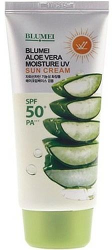 Face and Body Cream - Blumei Jeju Moisture Aloe Vera Sun Cream
