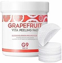 Fragrances, Perfumes, Cosmetics Cleansing Grapefruit Peeling Pads - G9Skin Grapefruit Vita Peeling Pad