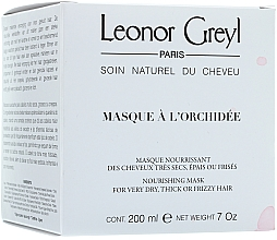 Fragrances, Perfumes, Cosmetics Hair Mask with Orchid Flowers - Leonor Greyl Masque a L'orchidee