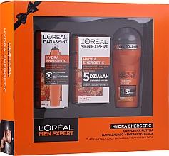 Fragrances, Perfumes, Cosmetics Set - L'Oreal Paris Men Expert (deo/50ml + cr/50ml + eye/roller/10ml)