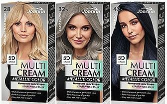 Hair Color - Joanna Multi Cream Color Metallic
