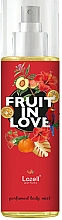 Fragrances, Perfumes, Cosmetics Lazell Fruit In Love - Body Spray