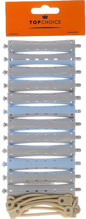 Perm Curlers 9 cm, size M, 65163, 12pcs - Top Choice — photo N1