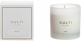 Fragrances, Perfumes, Cosmetics Scented Candle - Culti Milano Candle Bianco Velvet