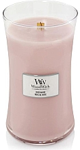 Fragrances, Perfumes, Cosmetics Scented Candle in Glass - WoodWick Hourglass Candle Rosewood