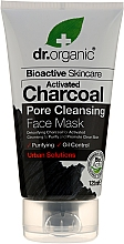 Fragrances, Perfumes, Cosmetics Activated Carbon Face Mask - Dr. Organic Bioactive Skincare Activated Charcoal Pore Cleansing Face Mask