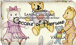 """Fragrances, Perfumes, Cosmetics Natural Soap """"Vanilla"""" - Florinda Sapone Vegetale Vegetal Soap Vanilla"""