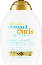 Fragrances, Perfumes, Cosmetics Curly Hair Shampoo - OGX Coconut Curls Shampoo