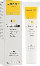 Fragrances, Perfumes, Cosmetics Eye Cream - Marbert I love Vitamins Eye Care