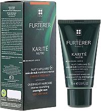 Fragrances, Perfumes, Cosmetics Night Hair Cream - Rene Furterer Karite Nutri Overnight Haircare Intense Nourishing Overnight Care