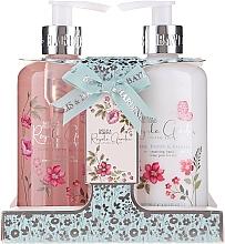 Fragrances, Perfumes, Cosmetics Set - Baylis & Harding Royale Garden Rose Poppy And Vanila (soap/300ml + h/cr/300ml)