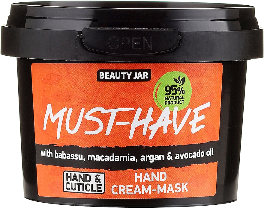 Hand Cream-Mask - Beauty Jar Must-Have Hand Cream-Mask