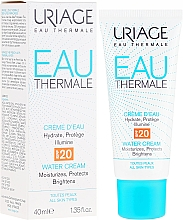 Fragrances, Perfumes, Cosmetics Light Moisturizing Cream - Uriage Eau Thermale Light Water Cream SPF 20