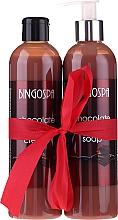 Fragrances, Perfumes, Cosmetics Set - BingoSpa Chocolate (sh/gel/300ml + soap/300ml)