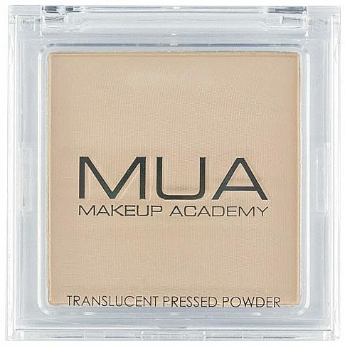 Transparent Face Powder - MUA Translucent Pressed Powder