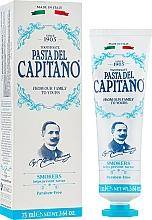 Fragrances, Perfumes, Cosmetics Toothpaste for Smokers - Pasta Del Capitano Smokers Toothpaste