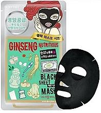 Fragrances, Perfumes, Cosmetics Nourishing Ginseng Face Sheet Mask - Dewytree Ginseng Nutritious Black Sheet Mask