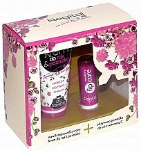 Fragrances, Perfumes, Cosmetics Set - Regital Hand & Lips (h/cr/40ml + lip/balm/4.9g)