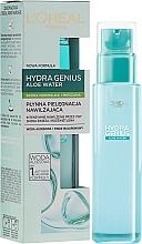 Fragrances, Perfumes, Cosmetics Face Aqua-Fluid for Normal & Combination Skin - L'Oreal Paris Hydra Genius Aloe Water