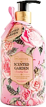 Fragrances, Perfumes, Cosmetics Hand Liquid Soap - IDC Institute Scented Garden Hand Wash Country Rose