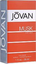 Fragrances, Perfumes, Cosmetics Jovan Musk For Men - Eau de Cologne