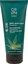 Fragrances, Perfumes, Cosmetics Shower Gel 3-in-1 - GRN Gentlemen's Organic Hemp & Hop 3-in-1 Body Wash