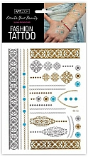 "Fragrances, Perfumes, Cosmetics Flash Tattoo ""Ornament"" - Art Look"