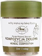 Fragrances, Perfumes, Cosmetics Face Peeling - Jadwiga Herbal Composition Peeling