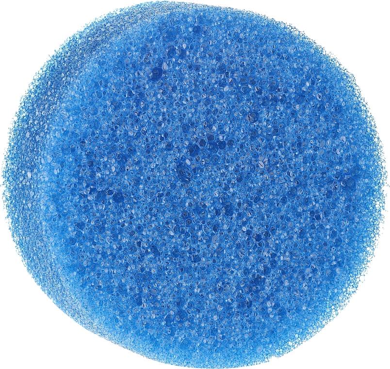 Anti-Cellulite Sponge, Round, Blue - Inter-Vion