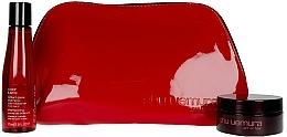 Fragrances, Perfumes, Cosmetics Set - Shu Uemura Art Of Hair Color Lustre (shmp/75ml + h/wax/77ml + bag)
