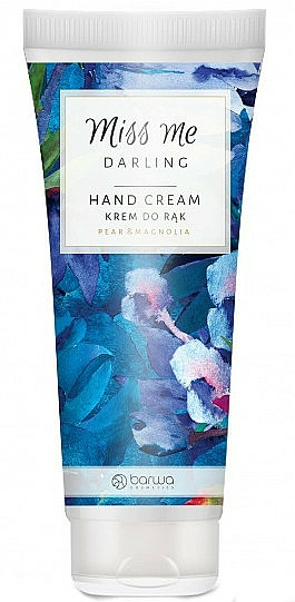 "Moisturising Hand Cream ""Pear & Magnolia"" - Barwa Miss Me Darling Pear & Magnolia"