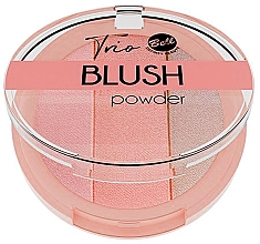 Fragrances, Perfumes, Cosmetics Compact Blush - Bell Trio Blush Powder