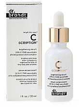 Fragrances, Perfumes, Cosmetics Brightening Face Serum - Dr. Brandt Bright This Way C Scription Brightening Serum