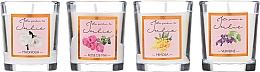 Fragrances, Perfumes, Cosmetics Scented Candle Set - Ambientair Le Jardin de Julie