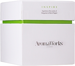 """Fragrances, Perfumes, Cosmetics Scented Candle """"Inspire"""" - AromaWorks Inspire Candle"""