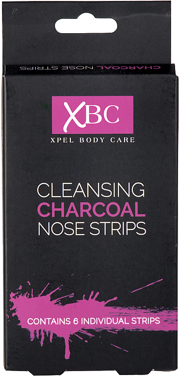 Cleansing Charcoal Nose Strips - Xpel Marketing Ltd Body Care Cleansing Charcoal Nose Strips
