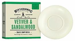 Fragrances, Perfumes, Cosmetics Vetiver & Sandalwood Shave Soap - Scottish Fine Soaps Vetiver & Sandalwood Shaving Soap Refill