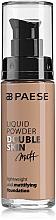 Fragrances, Perfumes, Cosmetics Foundation - Paese Liquid Powder Double Skin Matt